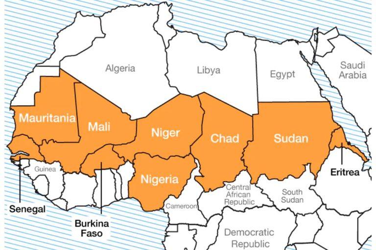 El terrorismo yihadista en la región del Sahel amenaza con una potencial expansión hacia el conjunto de África occidental, especialmente hacia los países costeros de Ghana, Costa de Marfil, Benín y Togo. Sus fronteras tocan con los países en estos momentos más heridos y afectados por la lacra del yihadismo: Mali, Burkina Faso y Níger.